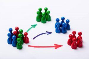 Digital marketing segmentation