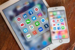 Social media results timeline
