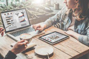 Digital marketing budget data