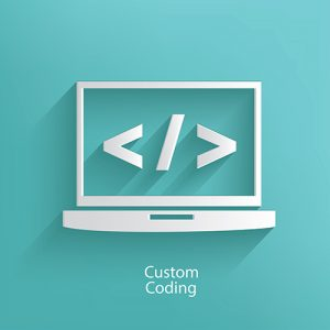 Custom coded website development