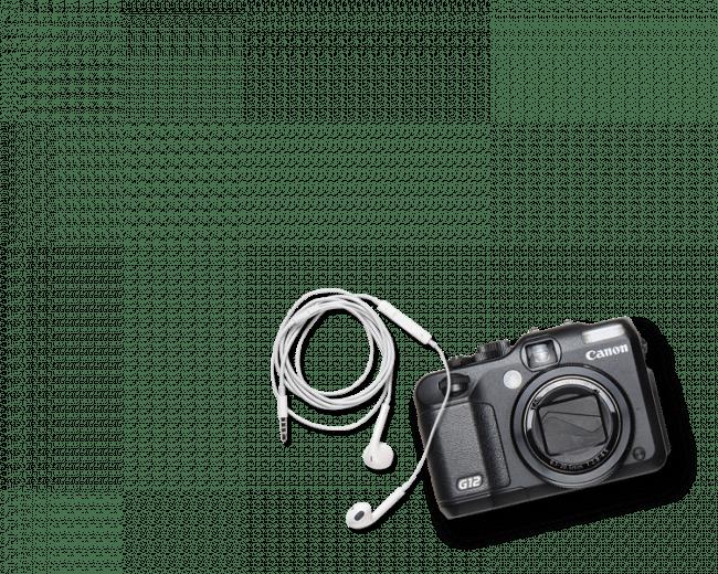 Camera header